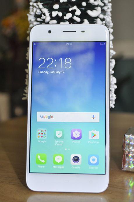 Tren tay smartphone Oppo A39 moi, thiet ke dep - Anh 4
