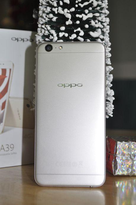 Tren tay smartphone Oppo A39 moi, thiet ke dep - Anh 5