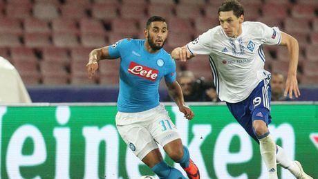 Hoa Dynamo Kyiv, Napoli buoc phai co 'tran dau sinh tu' voi Benfica - Anh 1