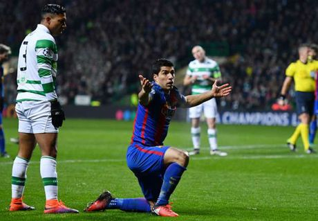 HLV Celtic 'to' Luis Suarez an va - Anh 1