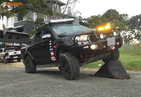 Ford Ranger Wildtrak do offroad 'sieu khung' tai Sai Gon - Anh 1