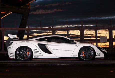 McLaren 650S do widebody Liberty Walk 'khung' gan 1 ty - Anh 3