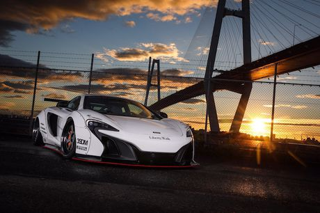 McLaren 650S do widebody Liberty Walk 'khung' gan 1 ty - Anh 6