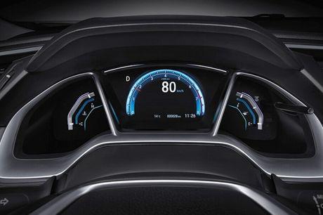 Honda Civic 180 Turbo vua ra mat tai Trung Quoc co gi? - Anh 10