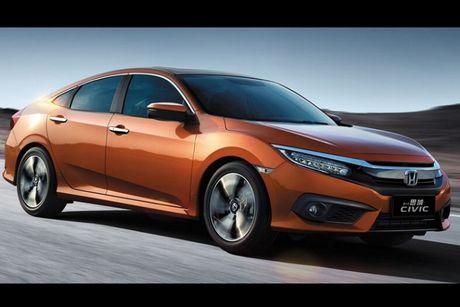 Honda Civic 180 Turbo vua ra mat tai Trung Quoc co gi? - Anh 2
