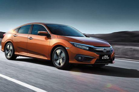 Honda Civic 180 Turbo vua ra mat tai Trung Quoc co gi? - Anh 5