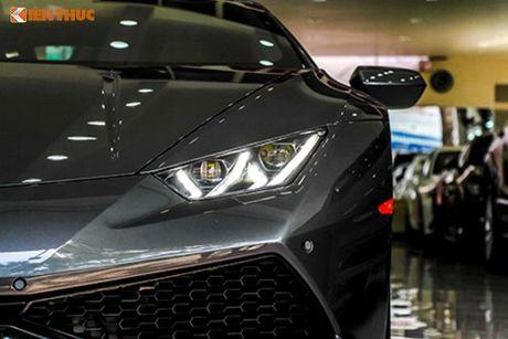 Lamborghini Huracan 'mau doc' gia 15 ty tai Ha Noi - Anh 4