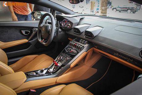 Lamborghini Huracan 'mau doc' gia 15 ty tai Ha Noi - Anh 6