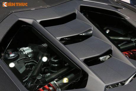 Lamborghini Huracan 'mau doc' gia 15 ty tai Ha Noi - Anh 7