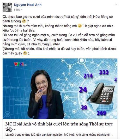 BTV Hoai Anh len tieng sau su co bat cuoi tren song truc tiep - Anh 2