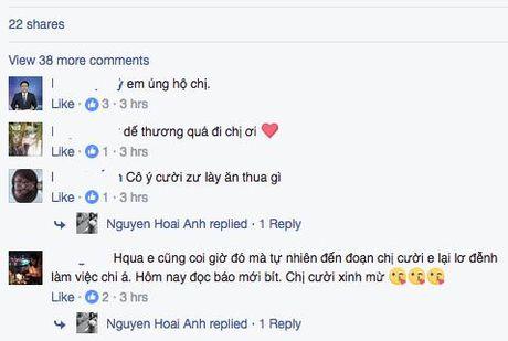 BTV Hoai Anh len tieng sau su co bat cuoi tren song truc tiep - Anh 3
