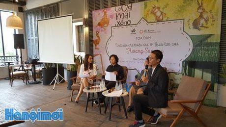 Dong dao doc gia tre giao luu voi nha van Hwang Sun-mi ve chu de 'Viet van cho thieu nhi' - Anh 1