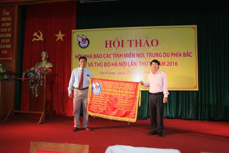 Hoi thao Hoi Nha bao cac tinh mien nui, Trung du phia Bac va Thu doHa Noi lan thu XI- 2016: Manh dan doi moi de Hoi Bao Xuan that su an tuong, hieu qua! - Anh 3