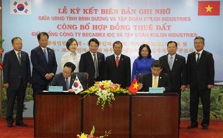 Cong ty o to Han Quoc dau tu 600 trieu USD vao Binh Duong - Anh 1