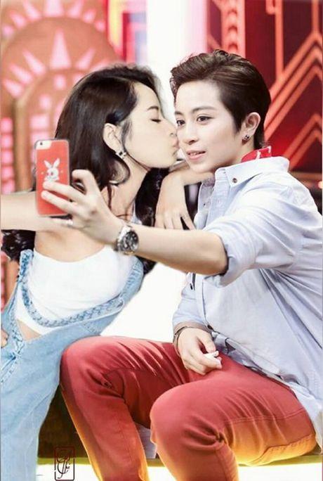 Fan che anh Chi Pu - Gil Le lay nhau, co em be nhu phim ngon tinh - Anh 2