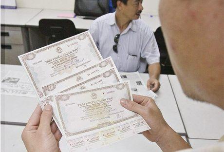 Huy dong tren 274.000 ty dong trai phieu chinh phu trong gan 11 thang - Anh 1
