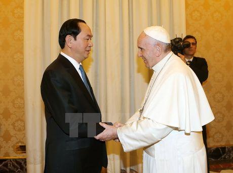 Toa thanh Vatican danh gia cao cac thanh tuu phat trien kinh te, xa hoi cua Viet Nam - Anh 1