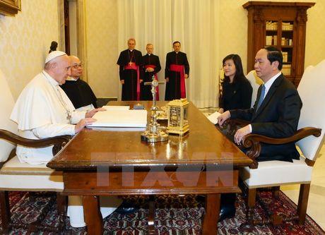 Toa thanh Vatican danh gia cao cac thanh tuu phat trien kinh te, xa hoi cua Viet Nam - Anh 2