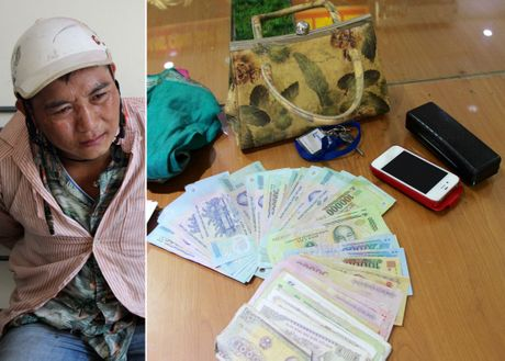 Kip thoi truy bat doi tuong cuop giat - Anh 1