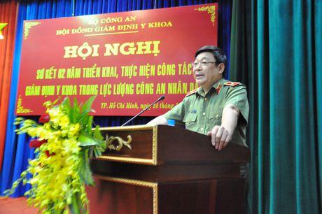 Nang cao nghiep vu chuyen mon trong cong tac giam dinh Y khoa luc luong CAND - Anh 2