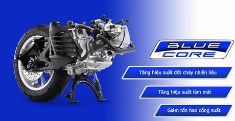 Kham pha dong co Blue Core 155 tren xe ga the thao Yamaha NVX - Anh 2