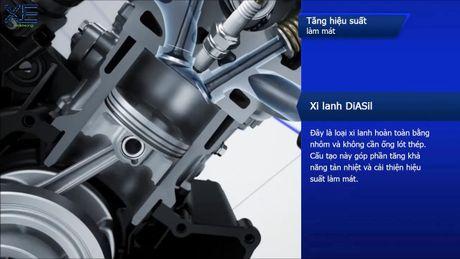 Kham pha dong co Blue Core 155 tren xe ga the thao Yamaha NVX - Anh 9