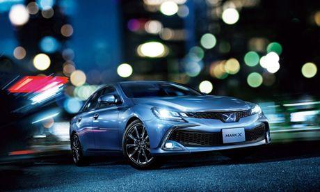 Toyota Mark X 2016 - dan anh cua Camry - Anh 3