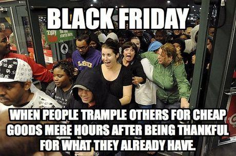 Y nghia ngay thu Sau den - Black Friday la gi? - Anh 1