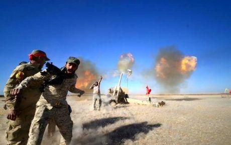 Quan doi Iraq co lap hoan toan phien quan IS o Mosul - Anh 1