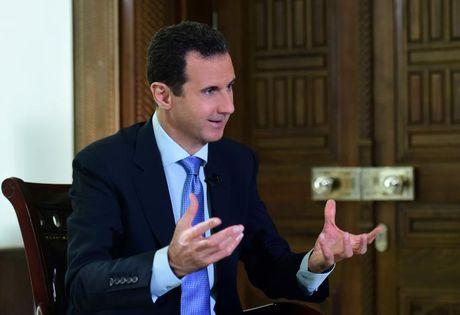 Ong Donald Trump se bat tay voi Tong thong Syria? - Anh 1