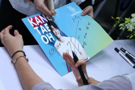 """""""My nam Han Quoc"""" Kang Tae Oh rang ro ky tang fans Viet - Anh 10"""