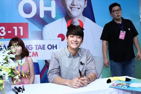 """""""My nam Han Quoc"""" Kang Tae Oh rang ro ky tang fans Viet - Anh 18"""