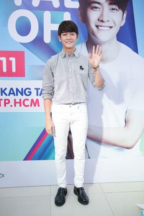 """""""My nam Han Quoc"""" Kang Tae Oh rang ro ky tang fans Viet - Anh 3"""