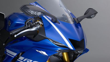 Chi tiet mo to Yamaha YZF-R6 the he 2017 voi thiet ke lot xac - Anh 5