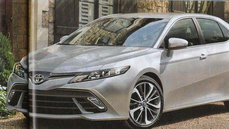 Thiet ke Toyota Camry 2018 se bot phan bao thu? - Anh 1