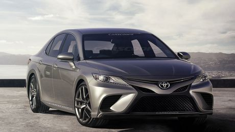 Thiet ke Toyota Camry 2018 se bot phan bao thu? - Anh 2