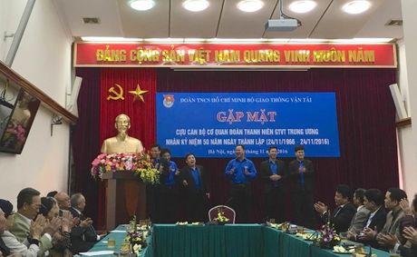 Bo GTVT gap mat cac cuu can bo Doan Thanh nien GTVT - Anh 1