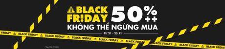 Tung bung khuyen mai mua sam Black Friday 2016 tai Viet Nam - Anh 1