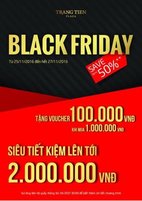 Tung bung khuyen mai mua sam Black Friday 2016 tai Viet Nam - Anh 9