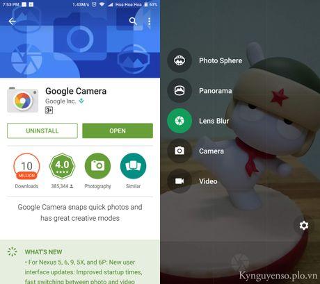 Cach chup anh xoa phong bang Google Camera - Anh 1