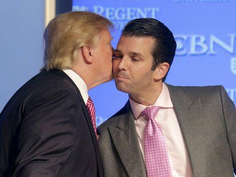 Con trai ong Trump se 'bac cau' cho cha bat tay ong Putin ve van de Syria? - Anh 1