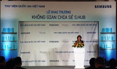 Khai truong khong gian chia se S.hub tai Thu vien Quoc gia Viet Nam - Anh 1