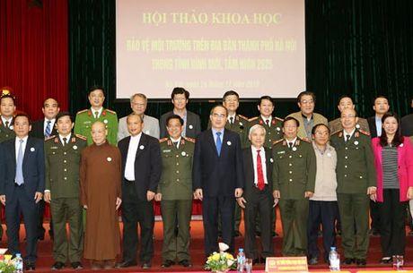 MTTQ va cac to chuc thanh vien truc tiep giam sat moi truong tai Ha Noi - Anh 2
