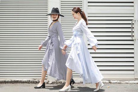 Song Yen goi y trang phuc doi cho chi em gai xuong pho - Anh 2