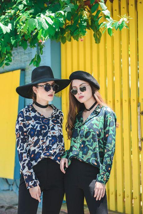 Song Yen goi y trang phuc doi cho chi em gai xuong pho - Anh 6