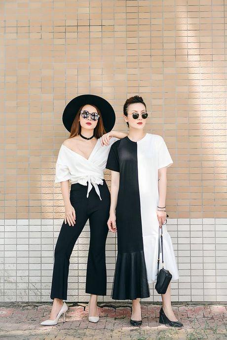 Song Yen goi y trang phuc doi cho chi em gai xuong pho - Anh 7