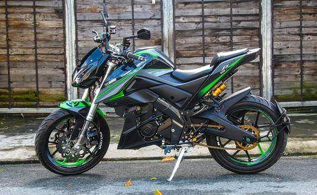 Yamaha FZ150i do phong cach moto phan khoi lon o Sai Gon - Anh 1
