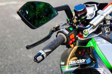 Yamaha FZ150i do phong cach moto phan khoi lon o Sai Gon - Anh 3