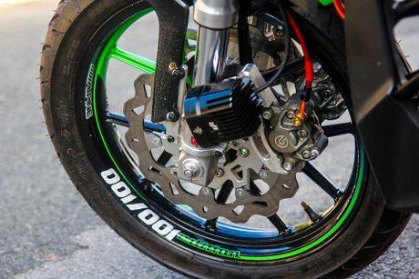 Yamaha FZ150i do phong cach moto phan khoi lon o Sai Gon - Anh 4