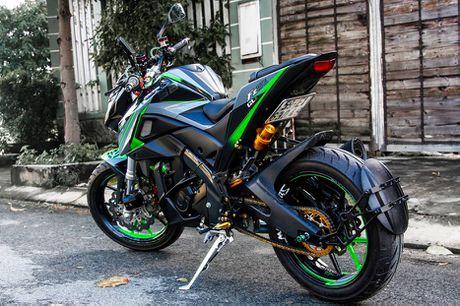 Yamaha FZ150i do phong cach moto phan khoi lon o Sai Gon - Anh 5